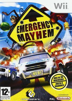 Emergency Mayhem - Wii  (Seminuevo)
