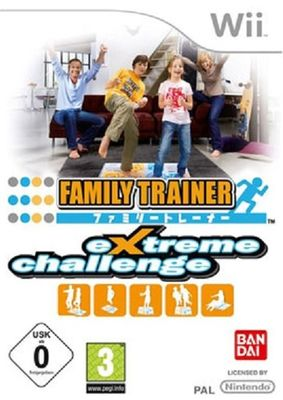 Family Trainer Extreme Challenge  - Wii