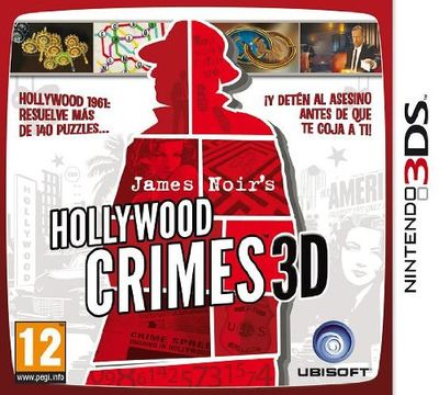 James Noir's Hollywood Crimes 3D - 3DS (Seminuevo)