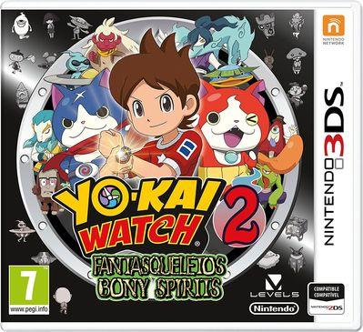 Yo-Kai Watch 2 Fantasqueletos - 3DS (Seminuevo)