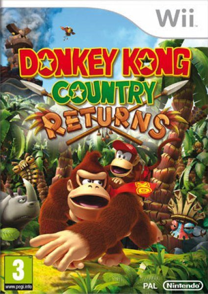 Donkey Kong Country Returns - Wii  (Seminuevo)