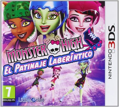 Monster High El Patinaje Laberintico - 3DS