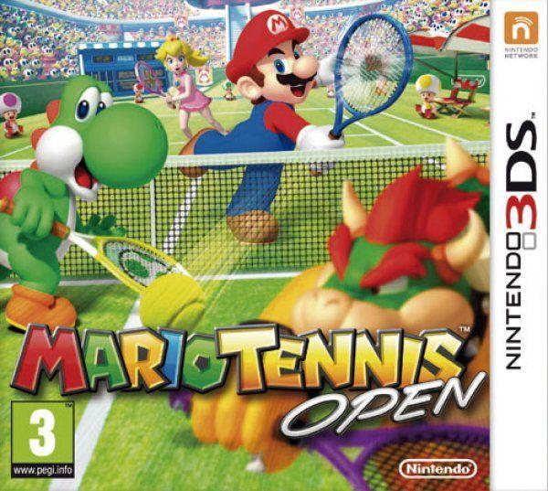 Mario Tennis Open - 3DS (Seminuevo)